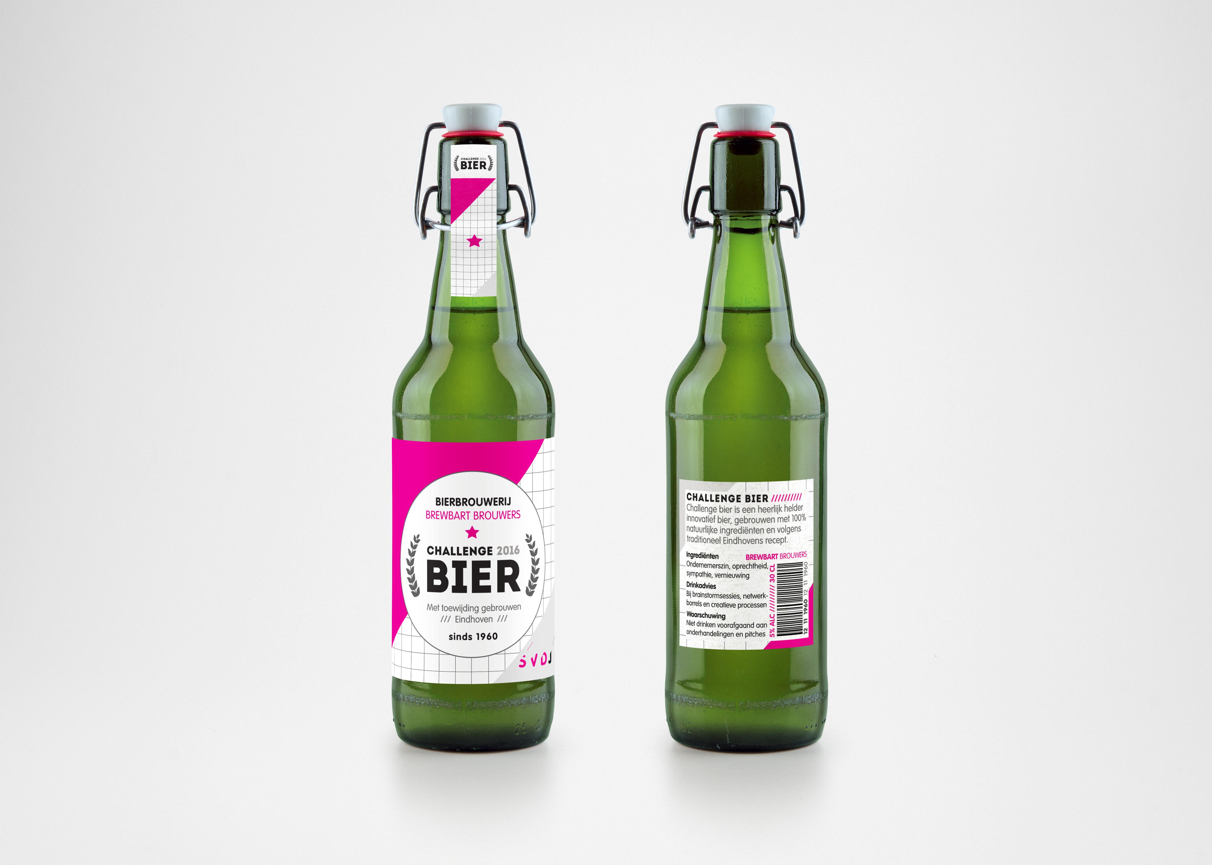 SVDJ bier groen beiden