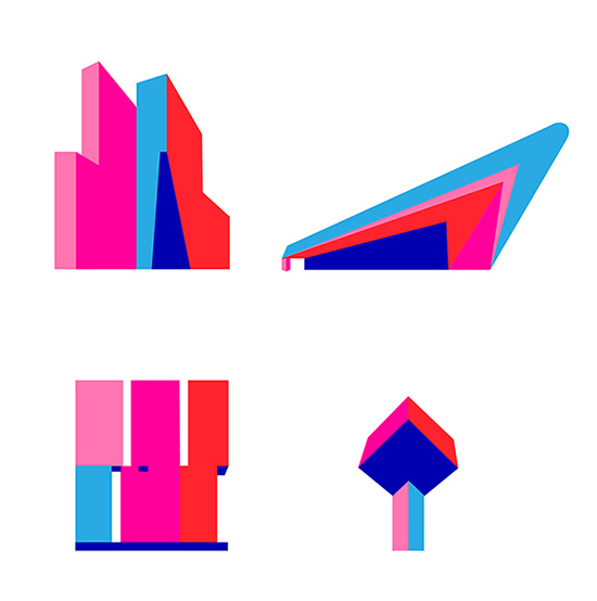 Ansichtkaarten van Rotterdamse gebouwen